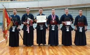 高校男子の部優勝和歌山東高校