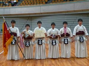 高校女子の部優勝和歌山東高校