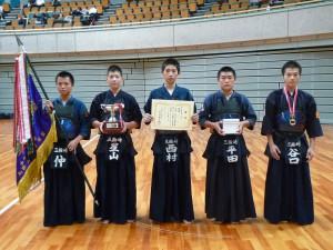 中学生男子三輪崎剣道クラブ